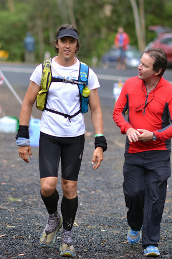 Coming into CP6. I really didn't give Graham much to work with, but check out those Bondi 3s...  :) pic courtesy of Terrigal Trotters