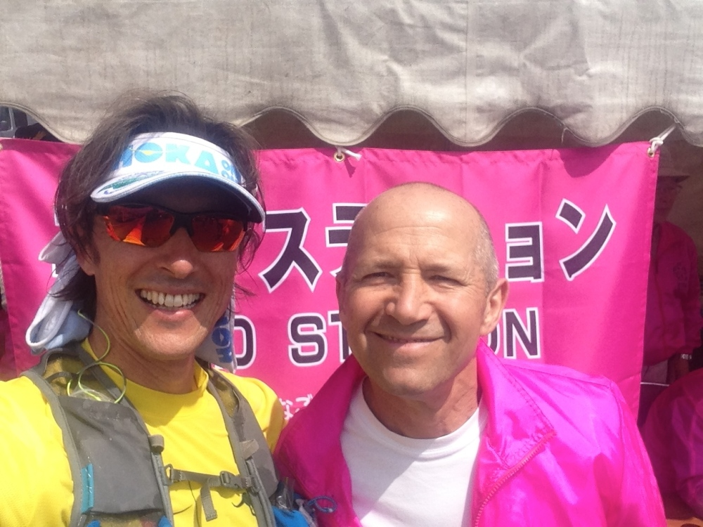 Catching up with Thierry at one of the aid stations, he warned me to keep cool, so I did. I wish he'd warned me to eat less tasty awesome food too! (as always though, entirely own fault - discipline is the key to ultra, even when you're enjoying yourself!)